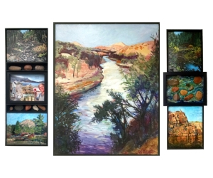 Wheeler__Discovering_the_Mokelumne_River___Tryptic_32x56approx